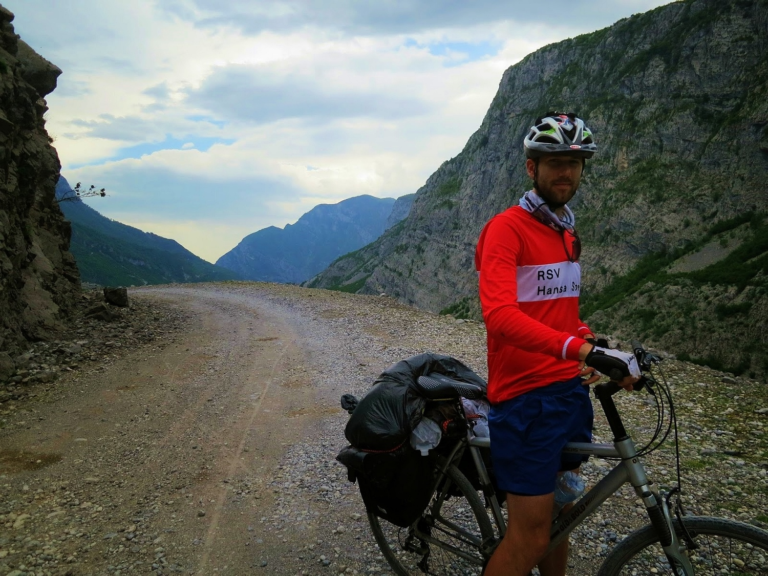 The beautiful and challenging mountain road from Gusinje to Shkoder