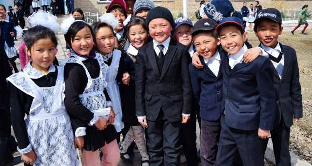 School Hopping in the Kyrgyz Tien-Shan Mountains