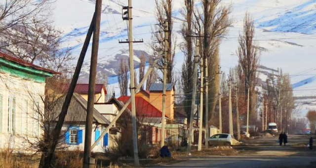 Karakol in Winter