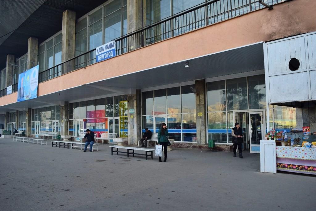Sairan International Bus Station in Almaty