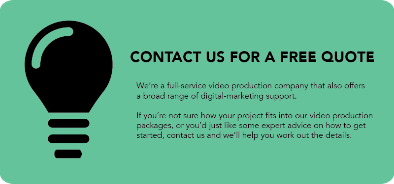 Custom quote for video production